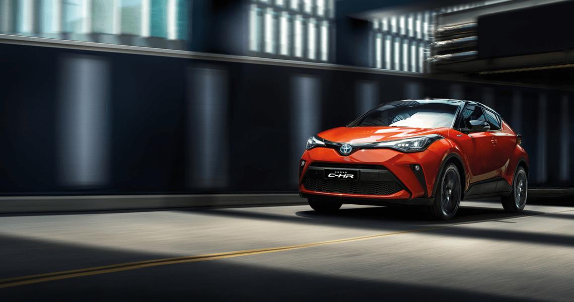 Toyota C-HR сега от 39 900 лв. с ДДС