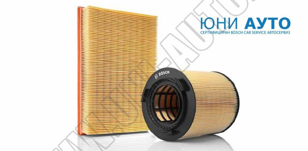 Съвети и Технология: Въздушните филтри от Bosch